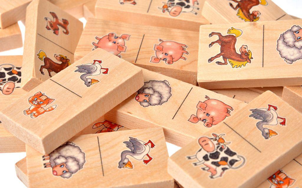 Игровые фишки с животными