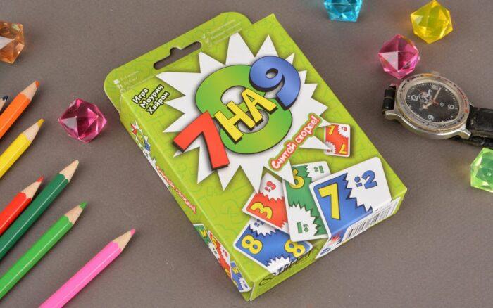 Карточная игра «7 на 9»