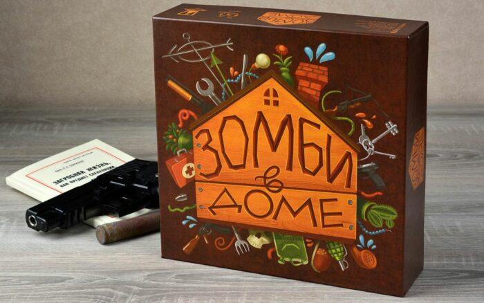 Настольная игра «Зомби в доме»