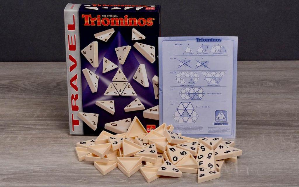 Настольная игра «Триоминос», дорожная версия