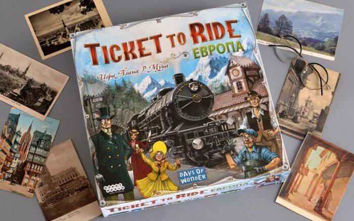 Настольная игра «Билет на поезд: Европа»